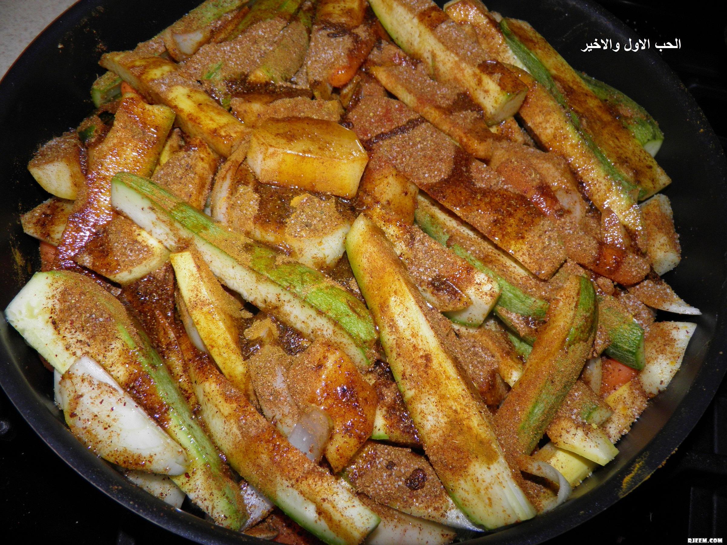 صينية الدجاج بالخضروات من مطبخي 13373264031.jpg