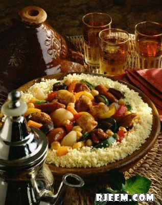 مقادير طبق الكسكس طبخ الكسكسي طريقة عمل الكسكس الجزائري بالصور 13421087411.jpg