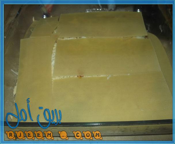 اسهل طريقة اللازانيا باللحمة المفرومة من مطبخى بالصور روعة 13570105211.jpg