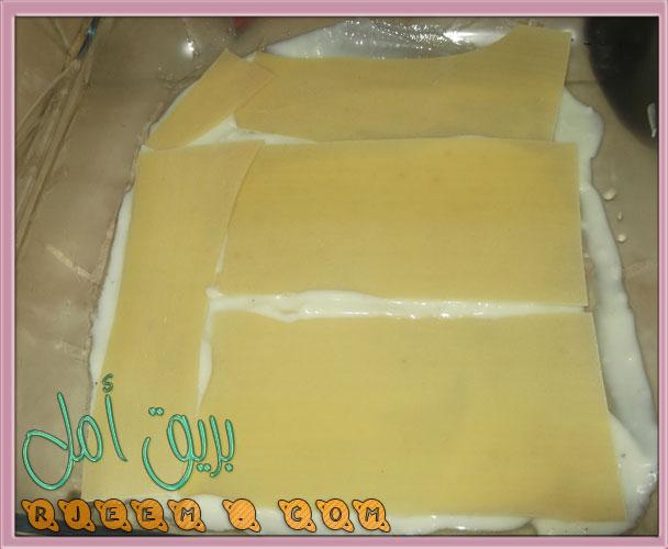 اسهل طريقة اللازانيا باللحمة المفرومة من مطبخى بالصور روعة 13570107352.jpg