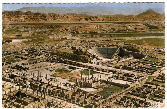 Timgad Plan Ville