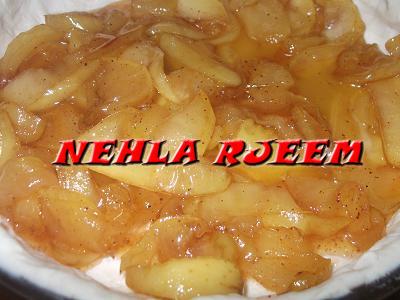فطيرة التفاح اللذيذة - وصفة سهلة لفطيرة التفاح - فطيرة التفاح بالقرفة 13694257482.jpg