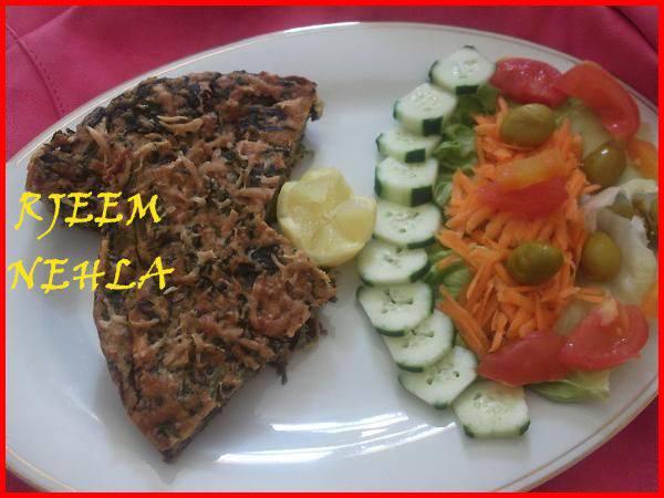 وصفة اومليت بالسبانخ - Recette d'omelette aux épinards 13716528792.jpg