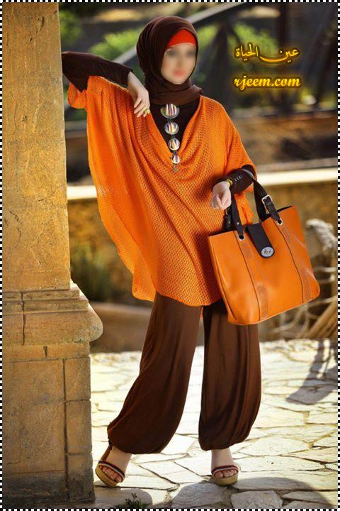 ازياء محجبات جميله ملابس محجبات للعيد 2013 13757127191.jpg