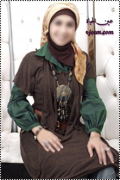 ازياء محجبات جميله ملابس محجبات للعيد 2013 13757127194.jpg