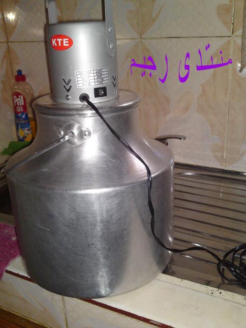 طريقة تحضير اللبن و استخراج الزبدة (السمنة) من حليب الماعز على طريقتي 13802294292.jpg