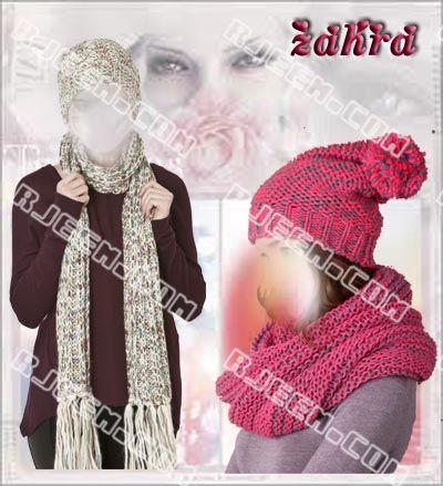 قبعات وكوفيات لدفئ الشتاء 13860997272.jpg
