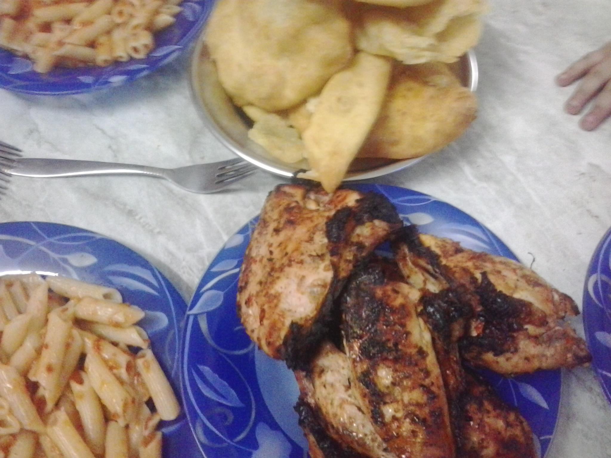 دجاج تكا وعيش بوري ومكرونة من مطبخي 13864448322.jpg