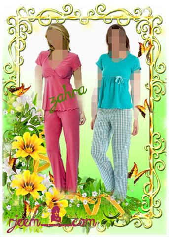 بيجامات للصيف والربيع  لكل الصبايا 13948134412.jpg