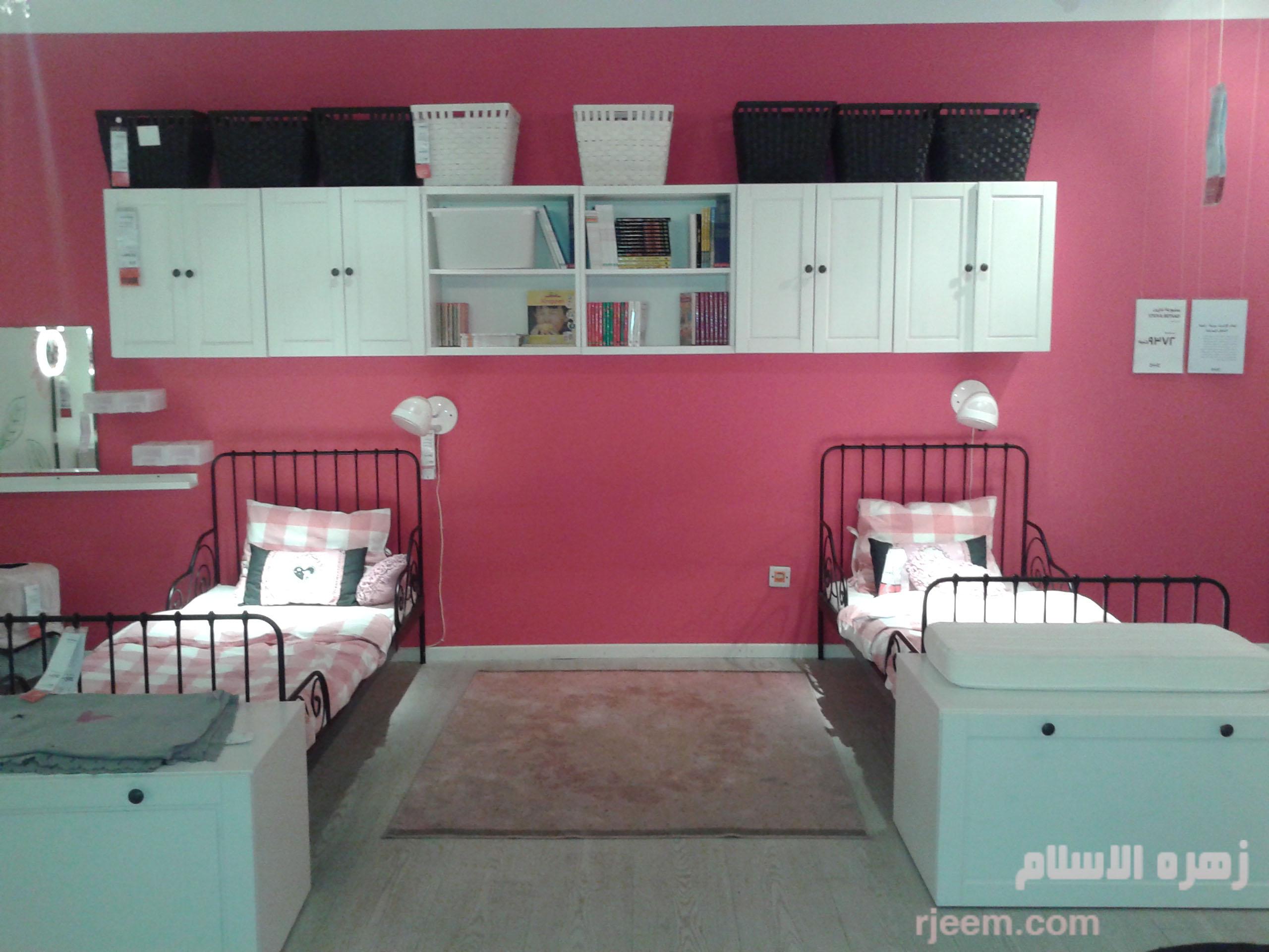 صور غرف نوم للاطفال من ايكيا   مجتمع رجيم