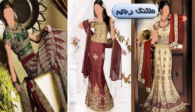 أزياء هندية  زاهية ومنوعة من السارى والبنجاب ازياء هندية أنيقة 13971755264.jpg