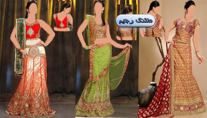 أزياء هندية  زاهية ومنوعة من السارى والبنجاب ازياء هندية أنيقة 13971755265.jpg