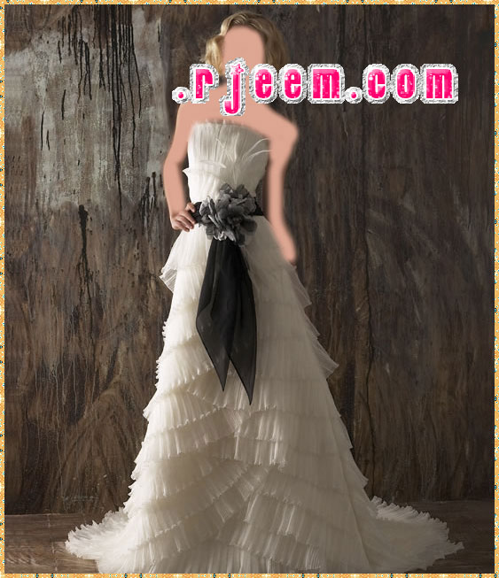 فساتين زفاف نعومى تصميم سمبل
