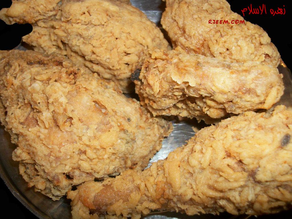دجاج مقرمش ورز الريزو بالصور طريقة عمل دجاج مقرمش وارز الريزو 14023209101