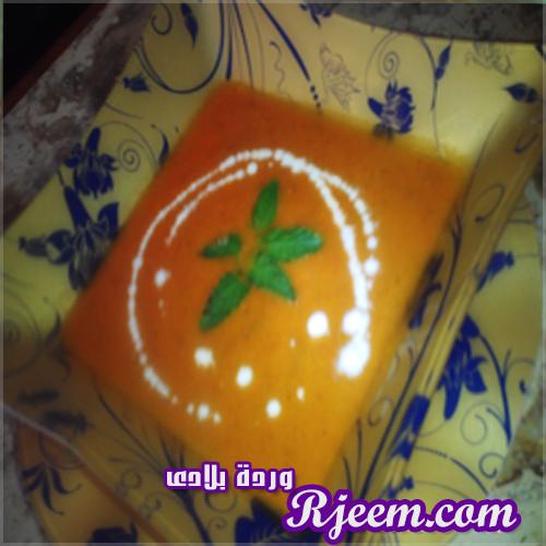 شوربة الطماطم بمكون مميز جداً من ابتكارى بالشرح والخطوات الدقيقة 14059805881.jpg