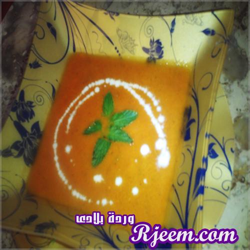شوربة الطماطم بمكون مميز جداً من ابتكارى بالشرح والخطوات الدقيقة 14059805882.jpg