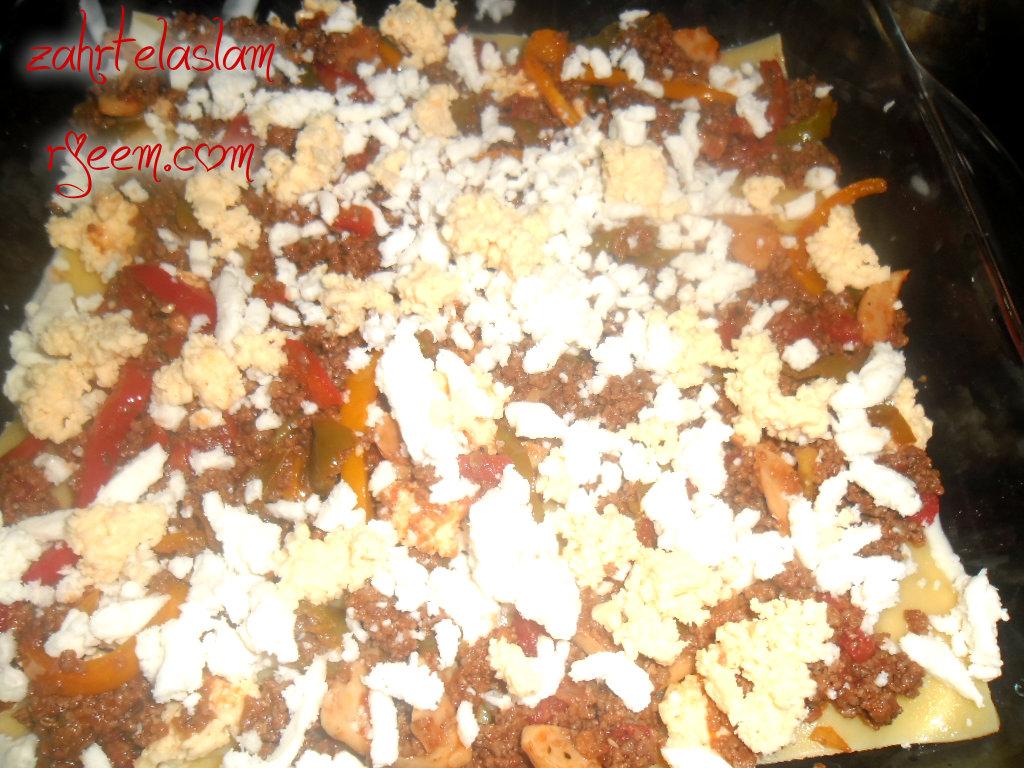 طريقة عمل اللازانيا باللحم شهيه ولذيذه بالصور 14118441695.jpg