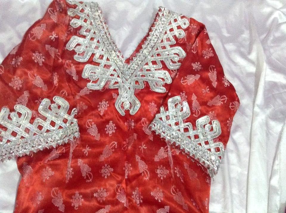 فستان تقليدي للافراح من  الجزائر 14145945721.jpg