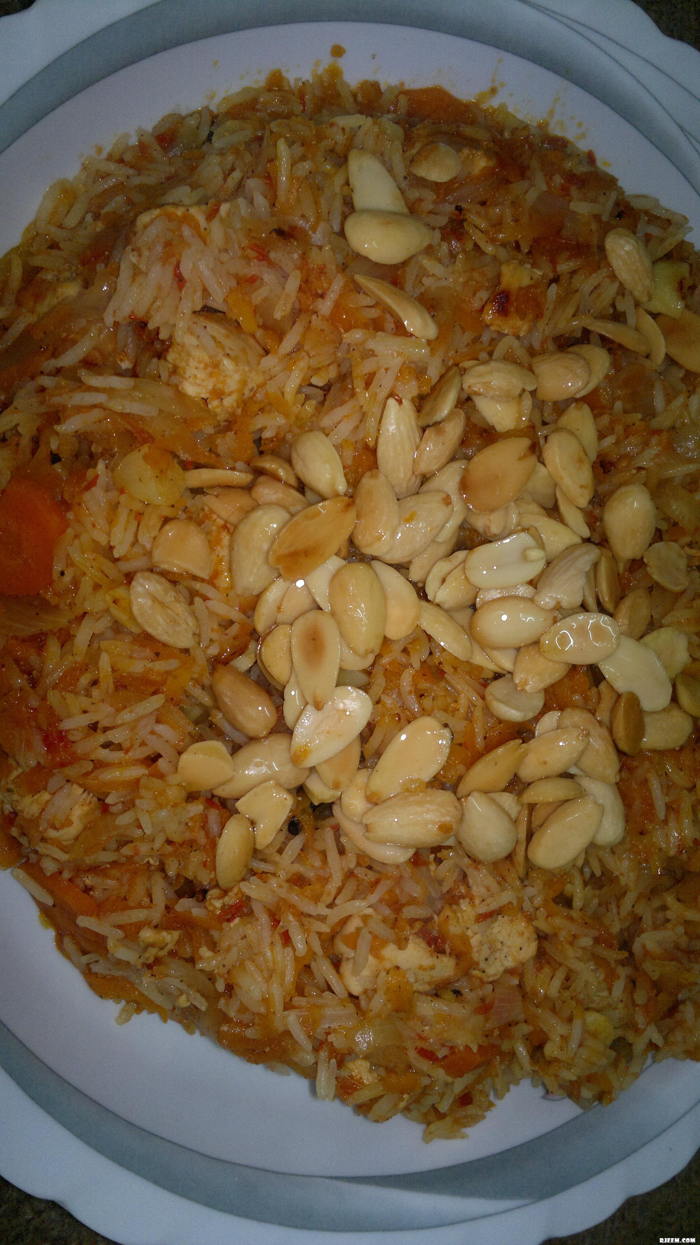 ارز البخاري مع صدور الدجاج من مطبخي .. 13458244495.jpg